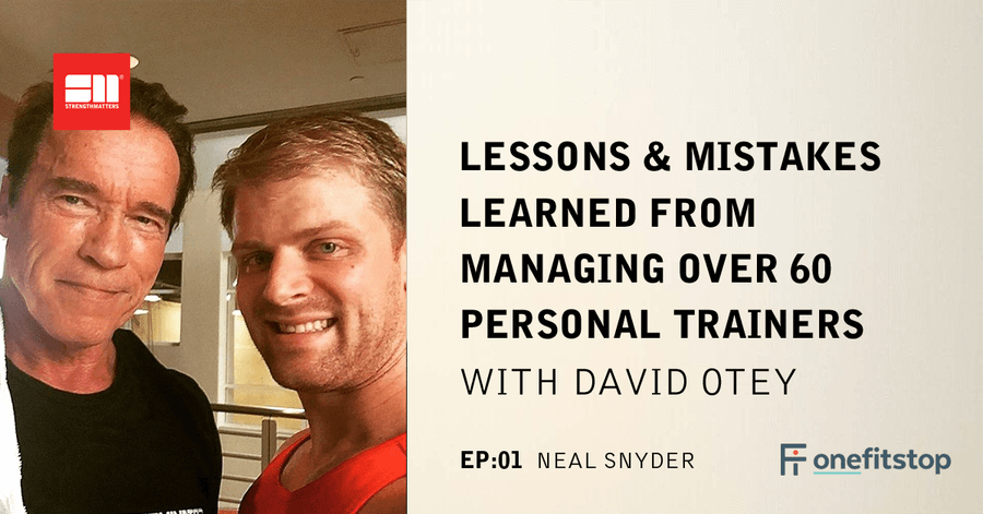 Ep 01: Lessons & Mistakes Learned From Managing Over 60 Personal Trainers