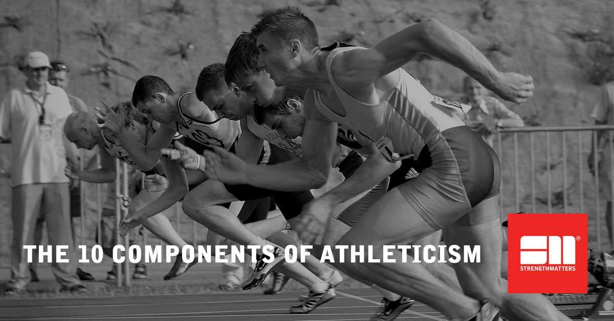 The Ten Components Of Athleticism - Whiteboard Wednesday