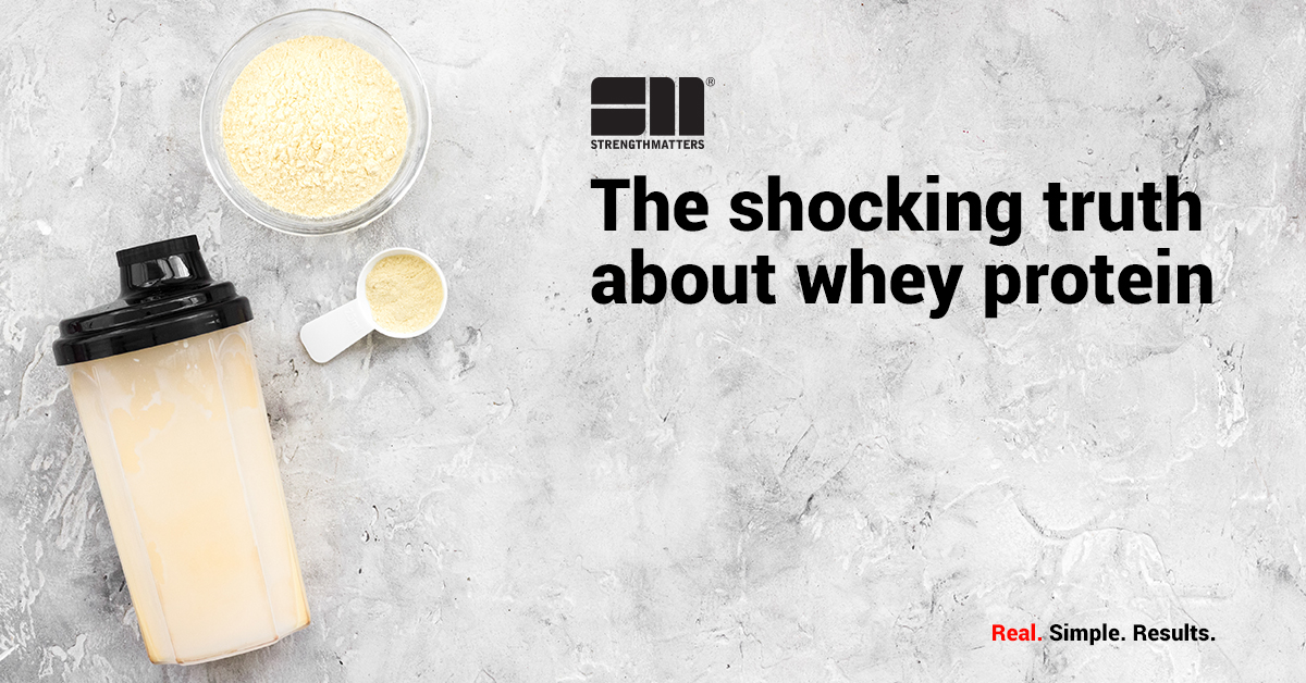 The Shocking Truth About Whey Protein
