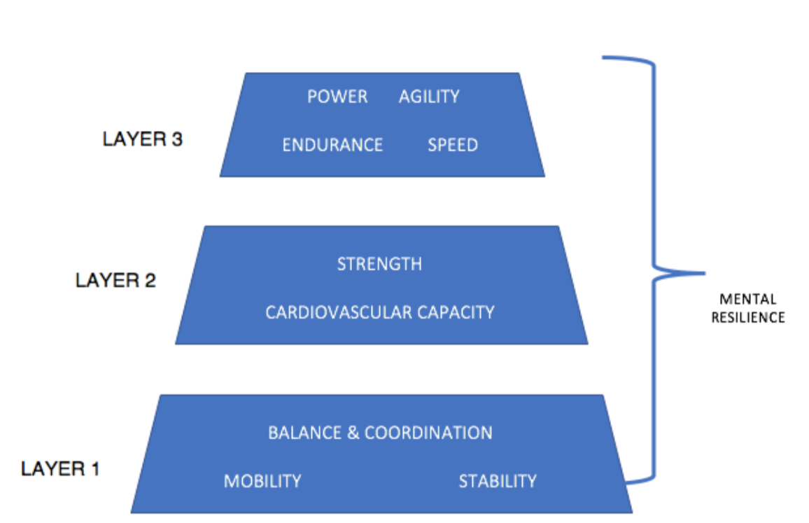 hierarchy of athletic development