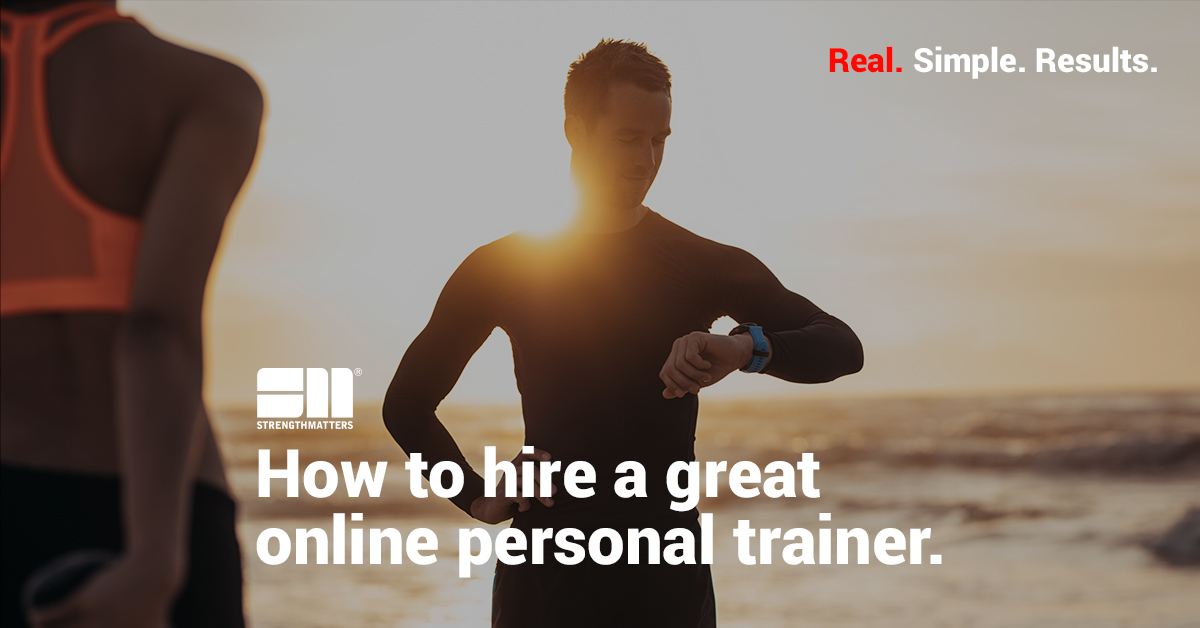 How To Hire A Great Online Personal Trainer