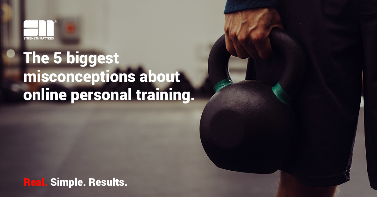 The Five Biggest Misconceptions About Online Personal Training