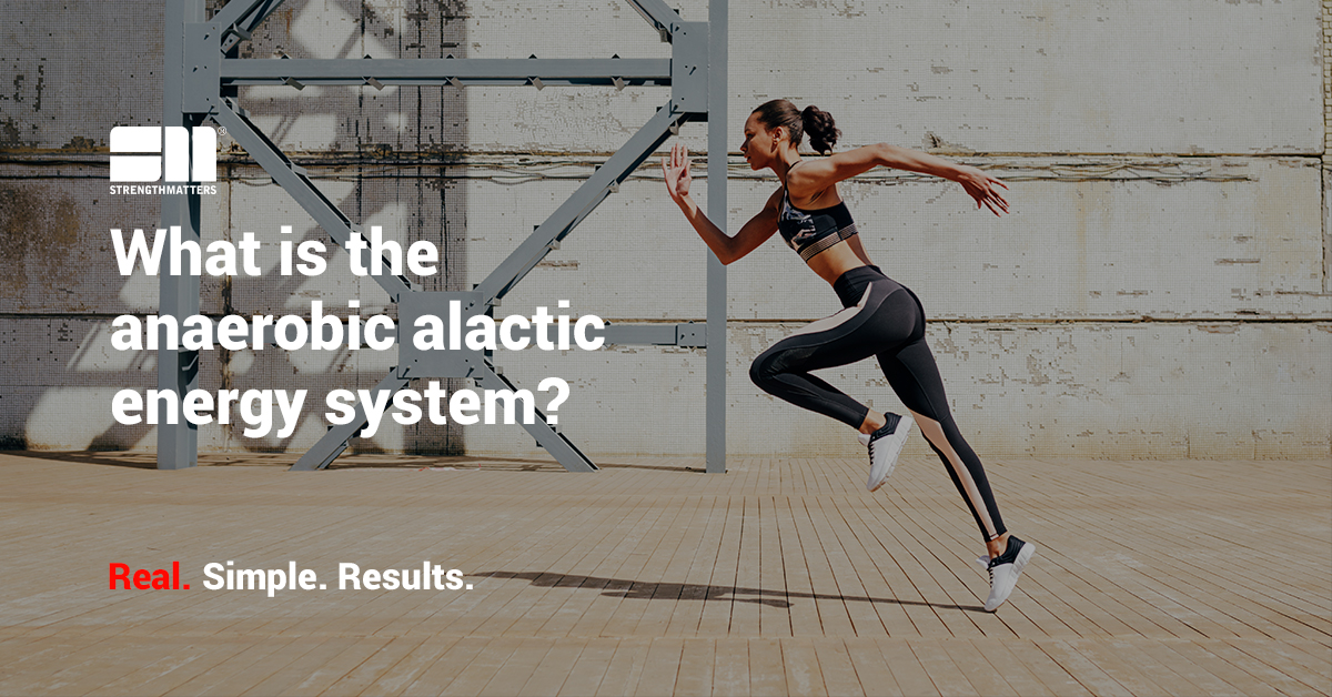 What Is the Anaerobic Alactic Energy System: A Beginners Guide [2019 Edition]